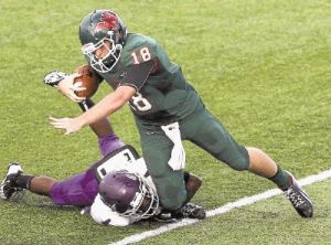 Quarterback Chris Andritsos and The Woodlands face Round Rock in a Class 5A Division I area round playoff game on Saturday in Waco.