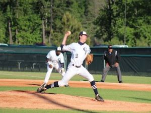 Beau Ridgeway pitched a complete game allowing just five hits and one earned run to improve to 5-2 as a starter.