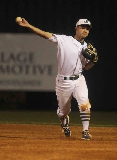 The Woodlands' Colton Wardle was named to the Texas Sports Writers Association honorable mention team as a second baseman.