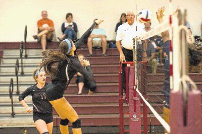 Magnolia's Morgan Miller was a first-team Class 5A all-state selection by the Texas Sports Writers Association.