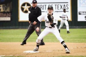 Conroe's Riley Wohlschlager and the Tigers will open District 16-6A play against The Woodlands tonight.
