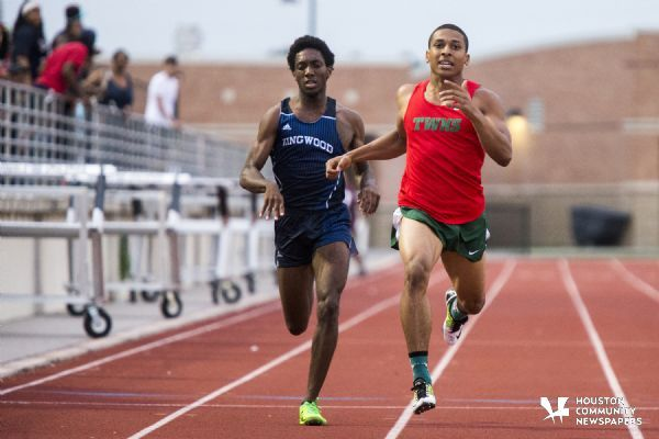 Track & Field: The Woodlands sweeps area track and fieldmeet