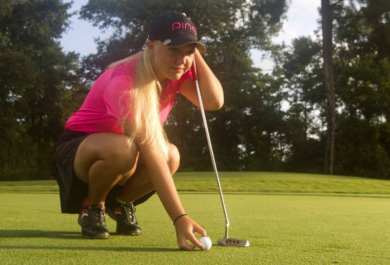 Girls Golf: Montgomery's Hailee Cooper takes fast track to stardom with common-sense approach