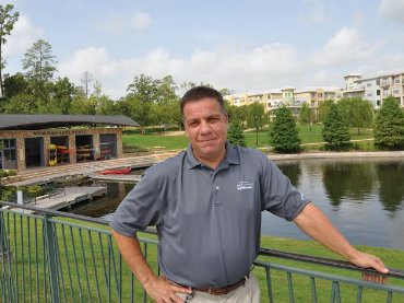 The Woodlands Township Parks and Recreation Director Chris Nunes, recently selected by the National Recreation and Park Association as a National Distinguished Professional.
