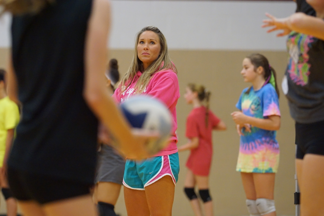 11th Annual Candice Collins Volleyball Camp a huge success