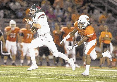 The Woodlands quarterback Eric Schmid and the Highlanders are closing in on a fourth consecutive district championship. The Highlanders play host to Summer Creek on Thursday night at Woodforest Bank Stadium.
