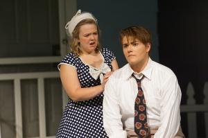 Cara Ellison as Rosemary Brad Brickhouse as Howard