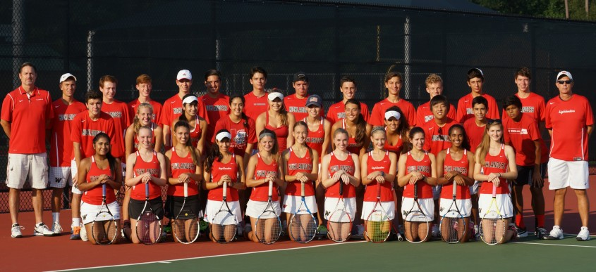 The Woodlands 2015 Team Tennis Squad