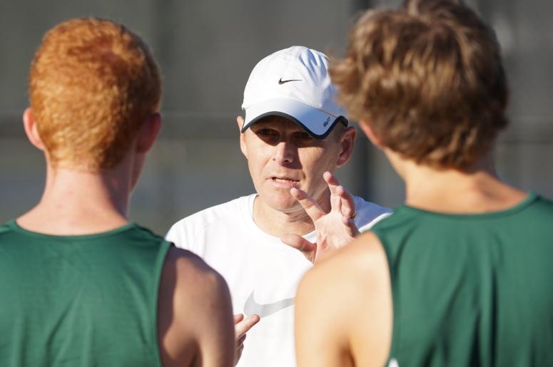 The Woodlands coach Juris Green