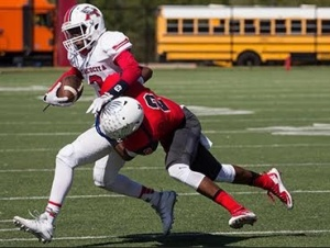 It was a defensive struggle to stop Atascocita for the War Eagles Saturday afternoon.