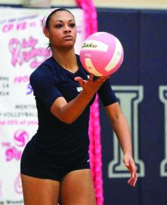 College Park's Kennedi Smith was named the All-District 16-6A Most Valuable Player.