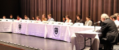 Twelve students in grades five through eight participated in The John Cooper School campus-level Geography Bee sponsored by National Geographic.