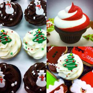 From cupcakes, cookies, cakes and more, get all of your holiday treats at Frost!