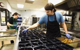 JThe Montgomery County Meals on Wheels program provides hot meals to many in the county that cannot prepare meals for themselves.. The program feed mo re than 500 people each day.