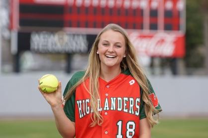 Emily Langkamp, The Woodlands Softball