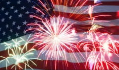 american.flag.fireworks