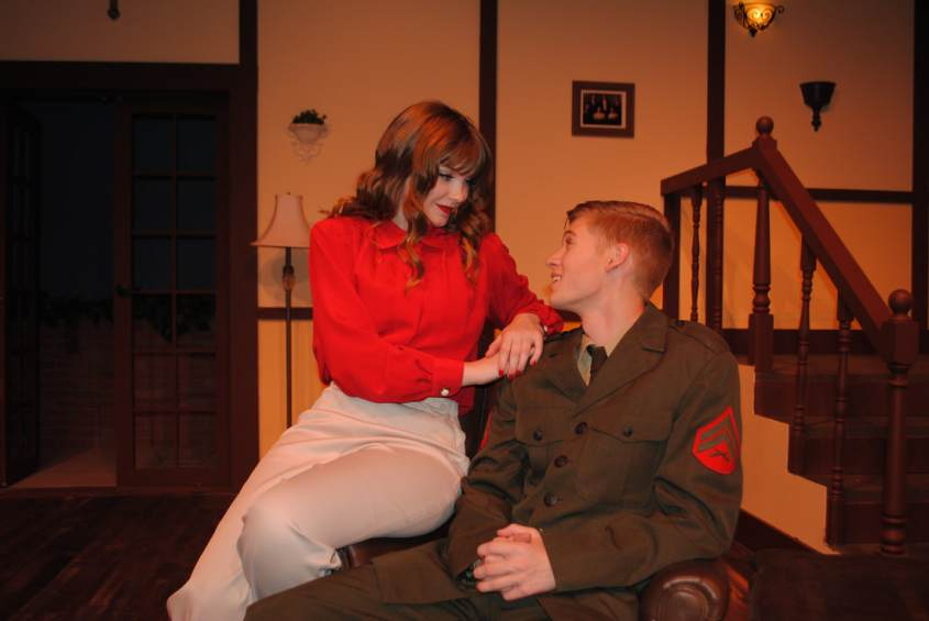"58c76ff706a Oak Ridge High School theatre students will perform ""See How They Run"" in  the Black Box Theatre."